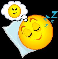 Smiley dreaming
