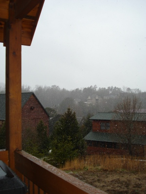 Another view from Treasures Times, a Cabins For You retreat