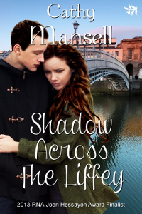 Cover Art for Shadow AcrossThe Liffey by Cathy Mansell